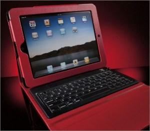 Bluetooth Keyboard Portfolio for iPad Tablet