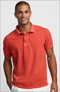 Classic Fit Vintage Piqué Polo Shirt