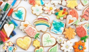 Color Your Own Cookies