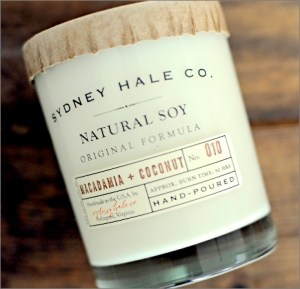 Sydney Hale Company Candle