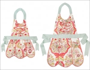 The Adeline Mother and Daughter Aprons