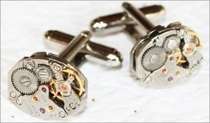 SEIKO Steampunk Cufflinks