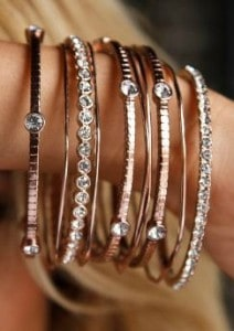 Crystal Bangle Set