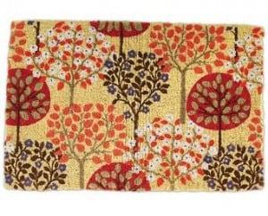 Harvest Trees Doormat