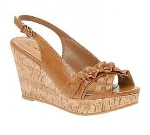Grontiz Slingback Wedge Sandals
