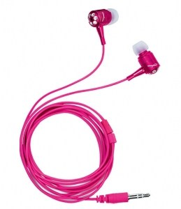 Breast Cancer Ear Buds