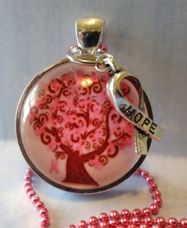 Gifts that give back for breast cancer awareness for Breastmilk jewelry tree of life
