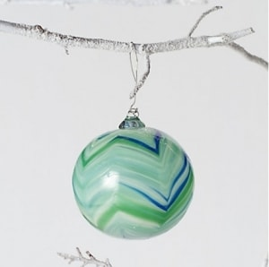 Feathered Glass Ball