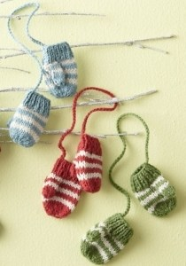 Garnet Hill Knit Ornaments