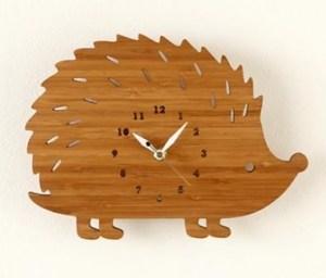 Hedgehog On Forest Time