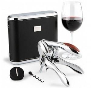 Monogrammed VIP Silver Wine Opener