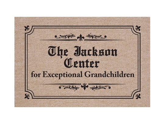PERSONALIZED CENTER FOR EXCEPTIONAL GRANDCHILDREN DOORMAT