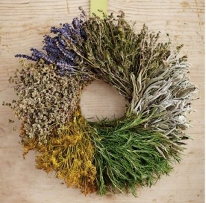 Segmented Herb Wreath