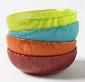 Sol Recycled Glass Bowls