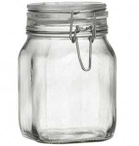 Jar with Clamp Lid | The Mindful Shopper