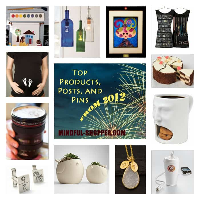 Top Products, Post, and Pins From 2012