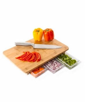 Quirky Mocubo One Stop Chopping Cutting Board   The Mindful Shopper