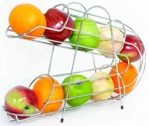 Refrigerator Fruit Rack in Chrome_6