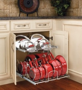 Rev-A-Shelf Two Tier Cookware Organizer | The Mindful Shopper