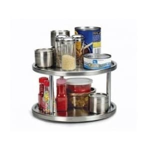Stainless Steel Lazy Susan | The Mindful Shopper