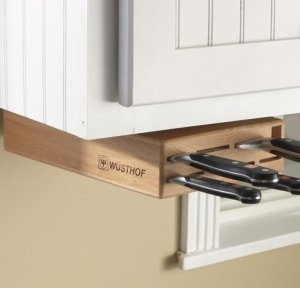 Wusthof Under Cabinet Knife Block | The Mindful Shopper