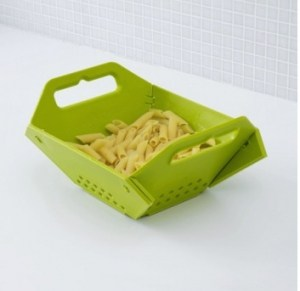 Green Folding Colander | The Mindful Shopper