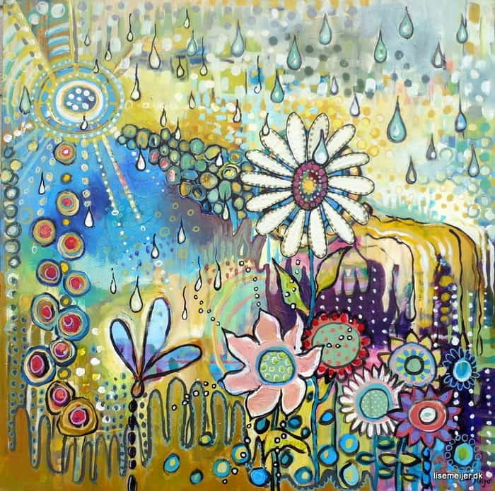 Sunshower by Artist Lise Meijer