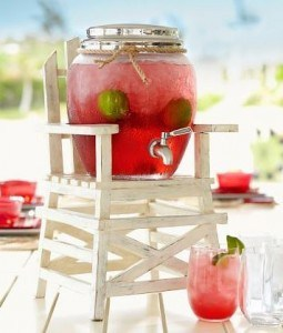 LIFEGUARD DRINK DISPENSER STAND | The Mindful Shopper