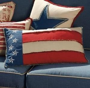 Patriotic Pillows | The Mindful Shopper