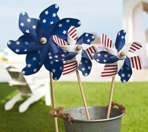 4th of July Pinwheels | The Mindful Shopper