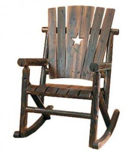 STAR INDOOR OUTDOOR ROCKING CHAIR | The Mindful Shopper