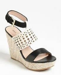 Sole Society Bristol Wedge | Dazzling Shoes | The Mindful Shopper