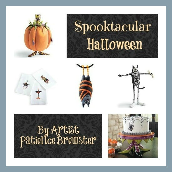 Spooktacular Halloween Decor by Artist Patience Brewster