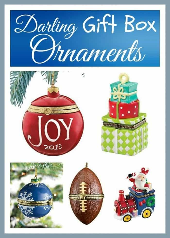Darling Gift Box Ornaments | The Mindful Shopper