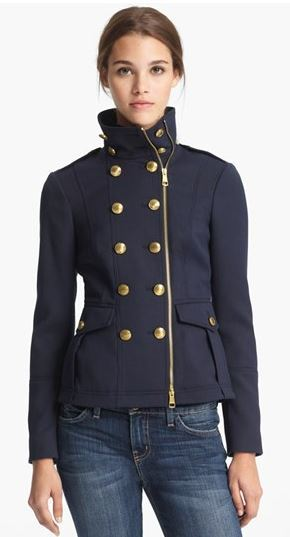 Burberry Crowborough Military Jacket | Fashionable Fall Pieces | The Mindful Shopper