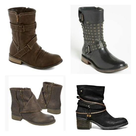 Moto Style Boots | Fashionable Fall Pieces | The Mindful Shopper