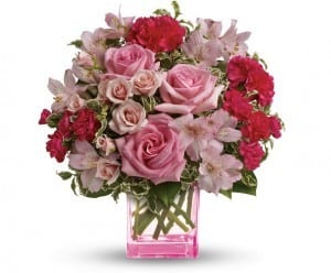 Teleflora's Pink Grace Bouquet | | Products For Breast Cancer Awareness | The Mindful Shopper