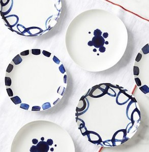 Como Dessert Plates | Vibrant Fall Colors | The Mindful Shopper