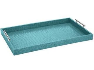Faux Croc Aqua Tray