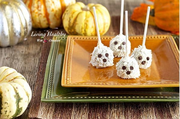 Paleo Ghost Truffles from Pin Cookie