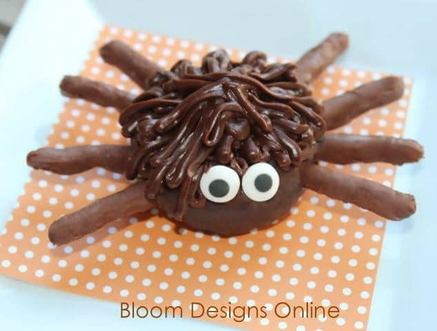 Spider Donuts from Bloom Designs