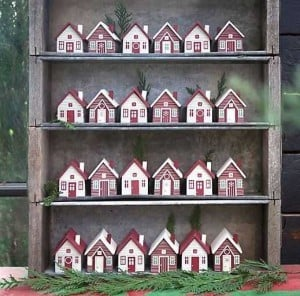 Advent Houses  | Super Fun Advent Calendars