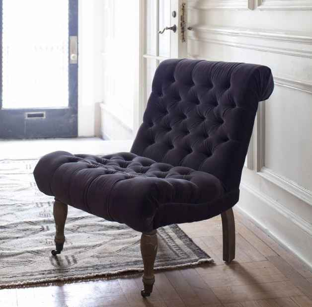 Velvet Cullen Chair