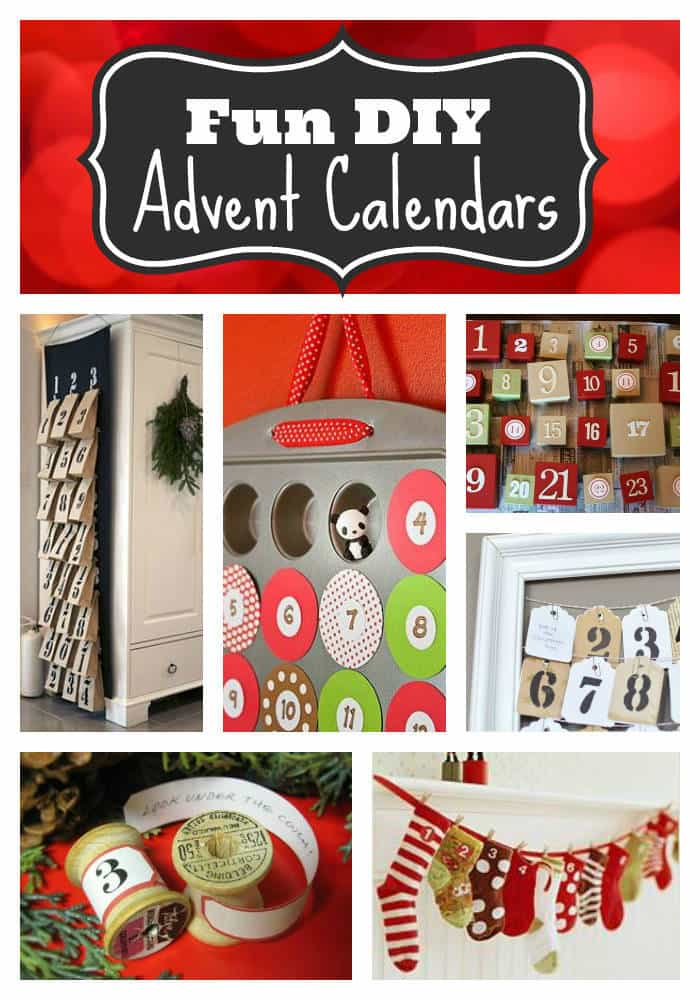 FUN DIY Advent Calendars | The Mindful Shopper