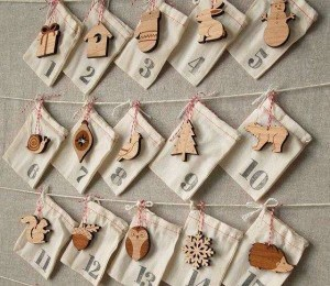 Woodland Ornament Advent Calendar by Peppersprouts  | Super Fun Advent Calendars