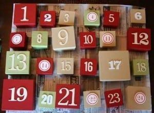 DIY Advent Boxes from Ali Edwards