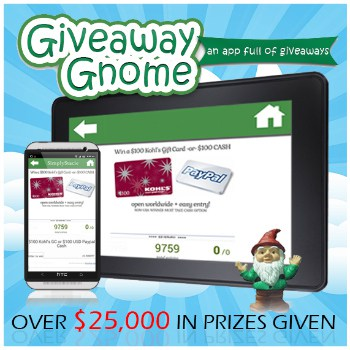 Giveaway Gnome