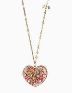 Betsey Johnson Vintage Bow Heart Necklace | Valentine's Day Picks