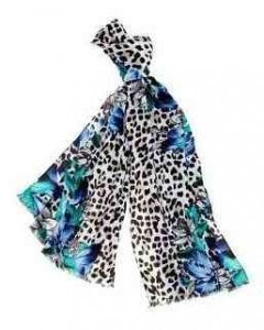 Leopard Floral Scarf | Fabulous Scarves | The Mindful Shopper