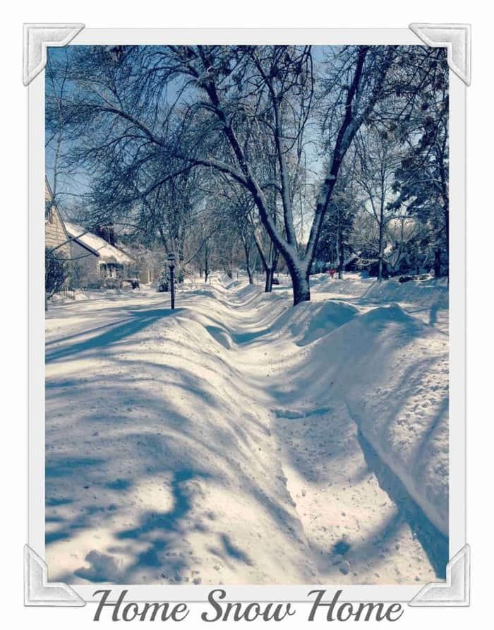 Minneapolis Snowstorm Feb 2014
